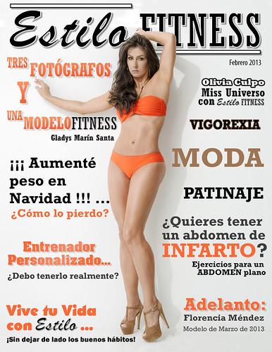 Portada Revista Estilo Fitness Febrero/ 2013