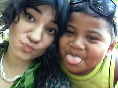 Sayo and me