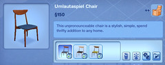 Umlautspiel Chair