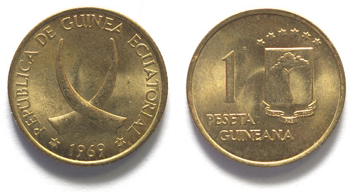 1 Peseta Guineana