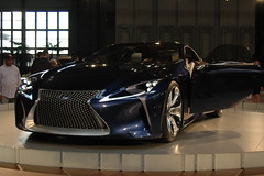 automobile, vehicle, performance car, automotive design, lexus, auto show, concept car, land vehicle, luxury vehicle, supercar, sports car,