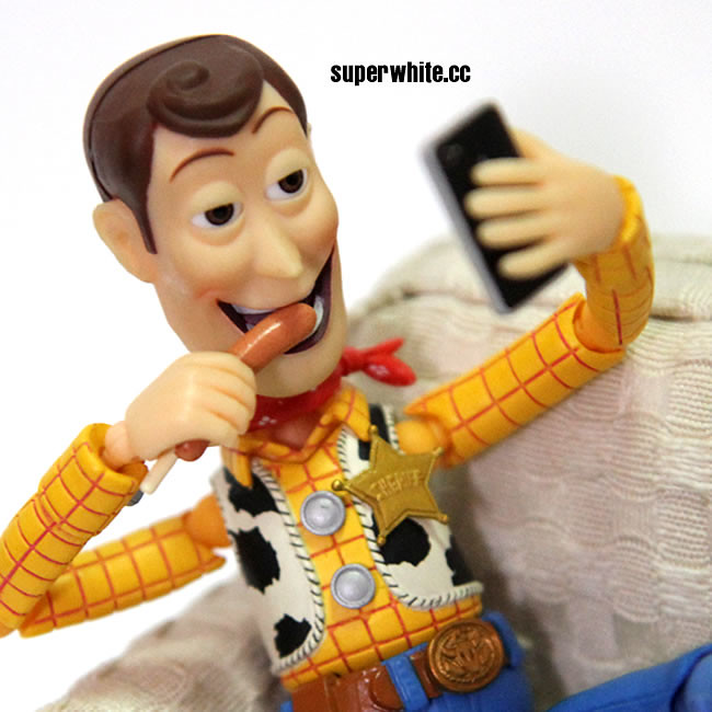 Woody camwhore with sausage!