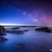 Milky Way Over The Atlantic by Adam Woodworth