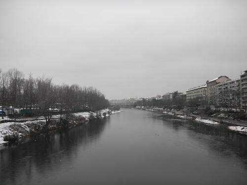Neve sul Po - Torino