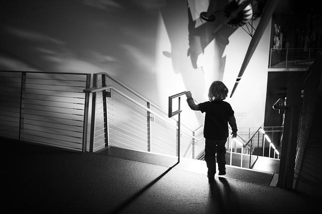 escalier du musee