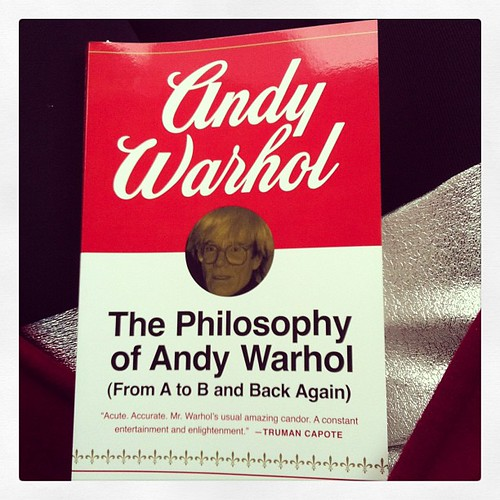 Finally bought this sucker at the gift shop. #warhol