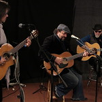 The Mavericks in Studio A, 2/25/2013. Photo by Deirdre Hynes