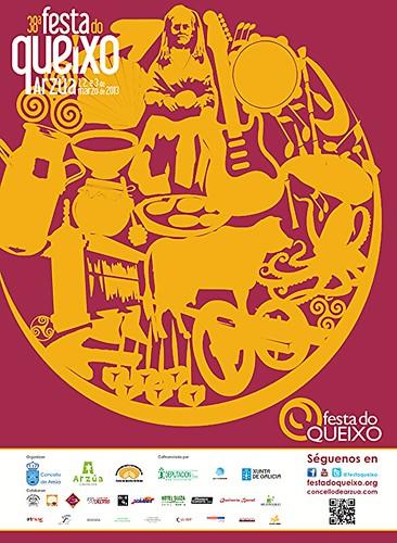 Arzúa 2013 - 38 Festa do Queixo - cartel