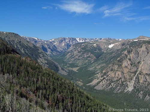 Views from Vista Point on the Beartooth Highway, Custer National Forest, Montana and Wyoming