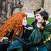 Paine as Merida & Peyton as Queen Elinor Brave Cosplay @ Anima Festival-0572