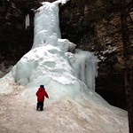 2013-03-02 Troll Falls winter hike / frozen waterfall