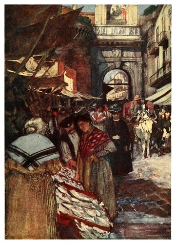 017-Porta Capuano en Napoles-Naples  past and present-1905-Maurice Grieffenhagen