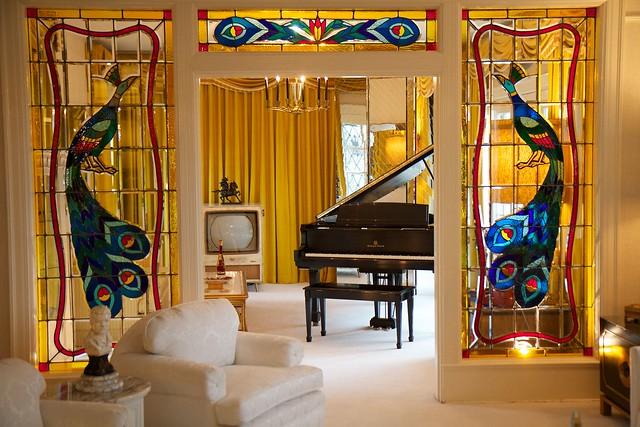 Graceland Living Room by CC user rcsj on Flickr