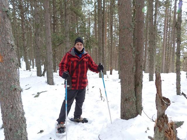 Con raquetas de nieve en Andorra