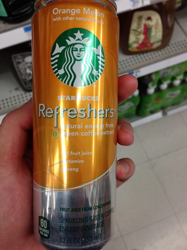 Energy drink of STARBUCKS