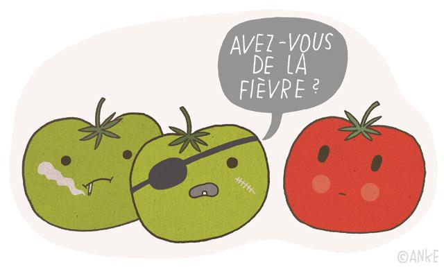 — У тебя температура?