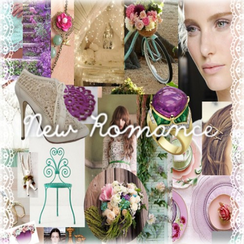 "Collabor88 March Mood Board - ""New Romance"" by Sugar Heartsdale"