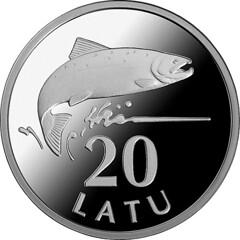 Silver Salmon coin obverse