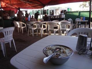 Prato de comida em Hargeisa
