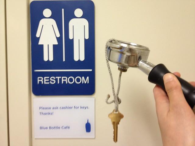 Restroom Key