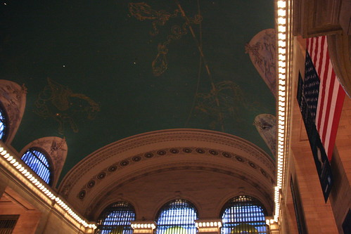 Grand Central Station ceiling