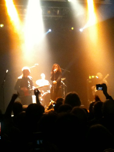 Wilko Johnson at Koko with Alison Moyet