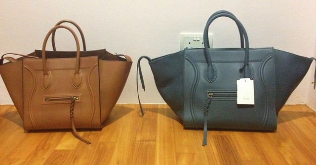 celine luggage phantom bag