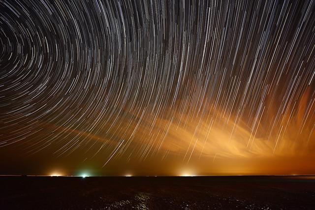 Salmi Desert-Star Trails