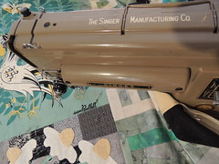 Quilting on the Singer 301