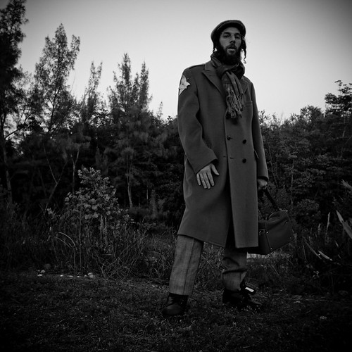 Brimstone127, in Character from I'm a Soldier Video Shoot