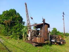 Smith Rodley steam crane, Butterworth Depot
