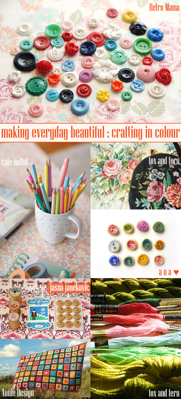 making everyday beautiful : crafting in colour | Emma Lamb