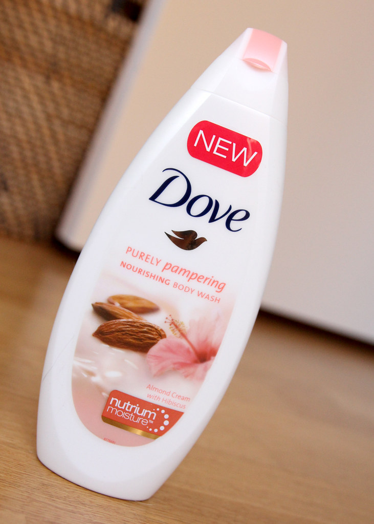Dove purely pampering nourishing body wash
