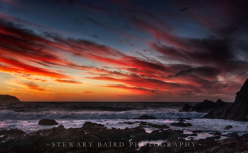 newzealand seascape nature clouds landscape waves south titahibay sxbaird stewartbaird