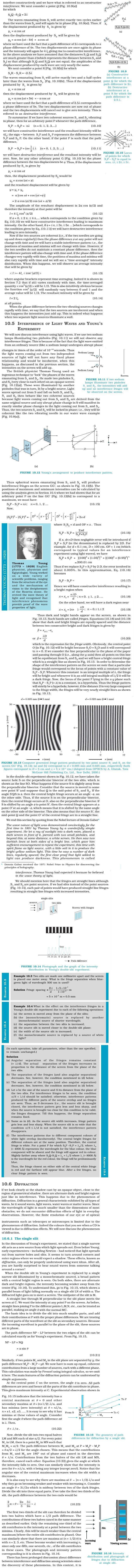 NCERT Class XII Physics Chapter 10 - Wave Optics
