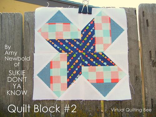 Origami Star Block