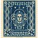 Austria postage stamp: art
