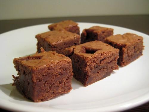brownies se slanym karamelem