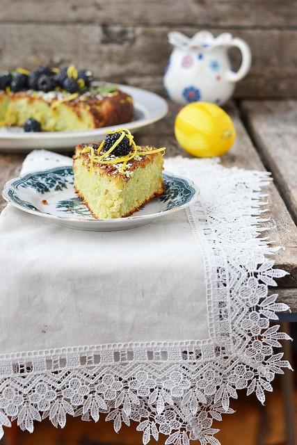 кокосовй пирог с ежевикой.3
