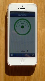 App KATWARN vorerst nur auf iPhone