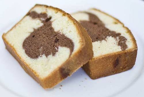 Pound Cake Loaf Recipes: Welcome To FABBYLIFE: Sour Cream Marble Loaf Pound Cake