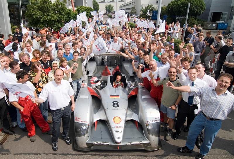 Audi R10 winner