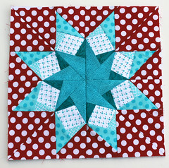 Paper pieced star 16