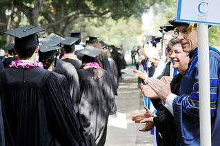 Image from 2010 Commencement ceremony