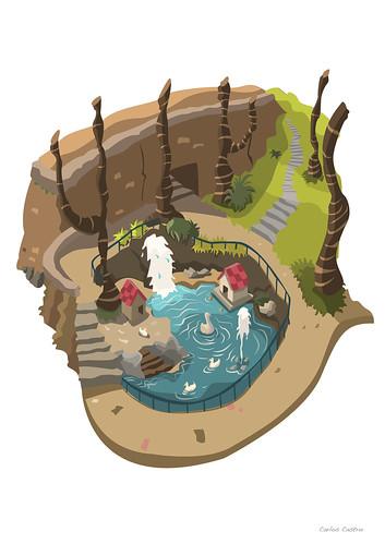 estanque by Carlos Castro Pérez