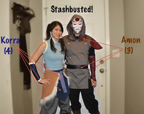 Korra & Amon Stashbusting
