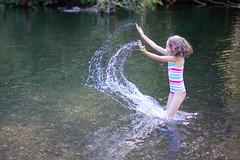 Julie Scooping Water