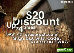 $20 discount up to 4times from greenRush