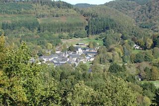 A village in Belgian Ardenne