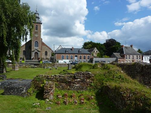 bavay pasdecalais forum antique musée museum eglise church clocher belltower